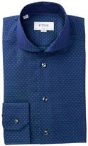 Eton Dot Slim Fit Dress Shirt