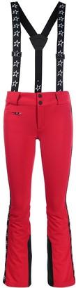 Perfect Moment Glacier star stripe trousers