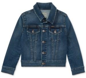 Polo Ralph Lauren Little Girls Denim Trucker Jacket