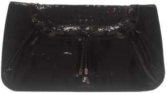 Salvatore Ferragamo Black Patent leather Clutch bags