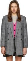 Etoile Isabel Marant Grey Eagan Check Blazer