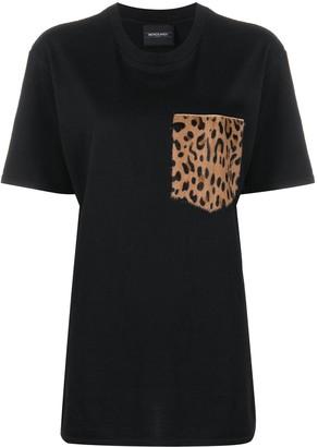 Simonetta Ravizza leopard pocket T-shirt
