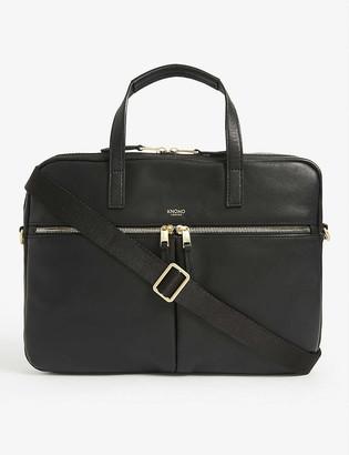 Knomo Hanover leather briefcase