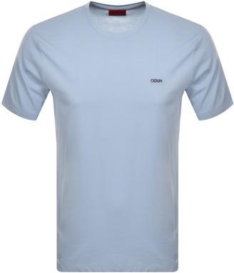 HUGO BOSS Dero203 Crew Neck Short Sleeve T Shirt Blue