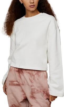 Topshop Tie Back Sweatshirt