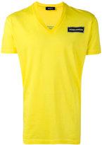 DSQUARED2 V-neck T-shirt - men - Cotton - XL