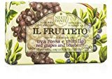 Nesti Dante by Il Frutteto Illuminating Soap - Red Grapes & Blueberry --250g/8.8oz for WOMEN ---(Package Of 4)