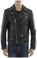 Alexander McQueen Black Leather Jacket