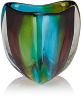 Caleb Siemon Chroma Low Triangle Crystal Vase