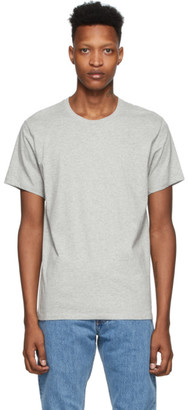 Calvin Klein Underwear Three-Pack Black and Grey Cotton T-Shirt