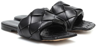 Bottega Veneta Lido leather sandals