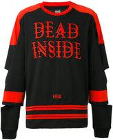 Hood by Air Dead Inside jersey - men - Cotton - XS