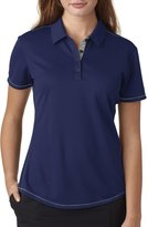 adidas Ladies' climacool Mesh Color Hit Polo