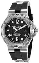 Bulgari Men's Automatic Rubber Dial
