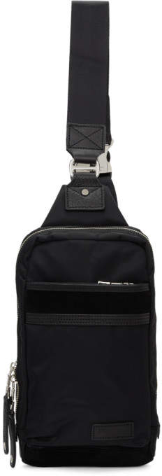 Master-piece Co Master Piece Co Black Density Backpack