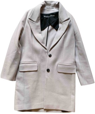 Drykorn Grey Wool Coat for Women