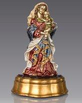 Jay Strongwater Madonna & Child Figurine