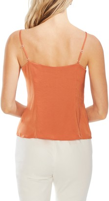 Vince Camuto Button-Front Camisole