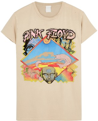 MadeWorn Pink Floyd printed cotton T-shirt