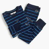 J.Crew Kids' pajama set in scuba stripes