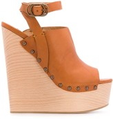 DSQUARED2 Wedge Stud Detail Sandals