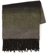 Topman Olive Green 'Diego' Blanket Scarf