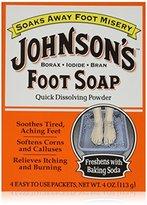 Johnson & Johnson Johnson's Foot Soap 4-Count (3-Pack)4 oz (113 g)