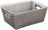 "Wenko Chromo"" Storage Basket, Grey"
