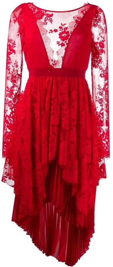 Aniye By lace panel dress