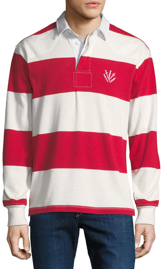 e063a9f2bb7 Red Rugby Shirt - ShopStyle