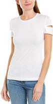 Helmut Lang Shiny Cuff T-Shirt