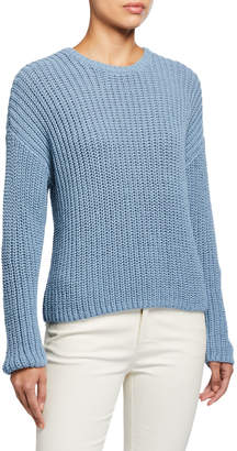 Eileen Fisher Textured Long-Sleeve Cozy Sweater