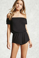 Forever 21 Off-the-Shoulder Romper