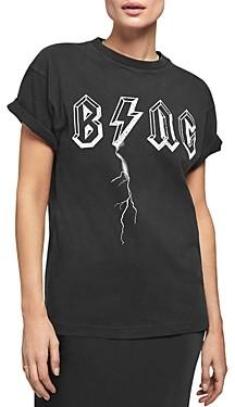 Anine Bing Bolt Logo Tee