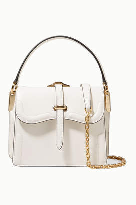 Prada Belle Small Leather Shoulder Bag - White