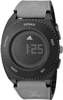 adidas Men's 45mm Grey Cloth Band Plastic Case Quartz Dial Watch Adp3240