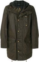 Belstaff hooded parka coat