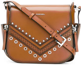 Diesel crossbody bag - women - Calf Leather/metal - One Size