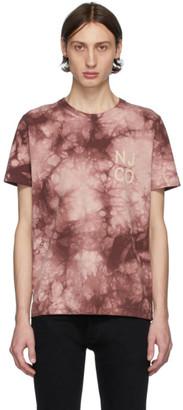 Nudie Jeans Pink Roy Tie-Dye T-Shirt