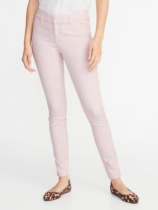 Old Navy Mid-Rise Full-Length Pixie Pants for Women