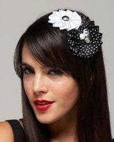 Grosgrain Flowered Headband