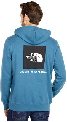 The North Face Box Nse Pullover Hoodie (TNF White/TNF Red) Men's Sweatshirt