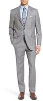 Peter Millar Men's Classic Fit Plaid Wool Suit