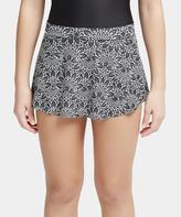 Capezio Black Moonshadow Reversible Skirt - Girls