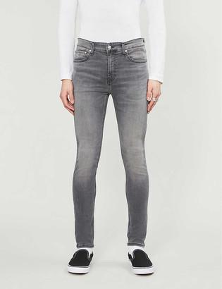 CK Calvin Klein High-rise super skinny stretch-denim jeans