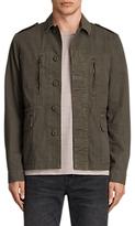 AllSaints Taylor Military Jacket, Khaki Green
