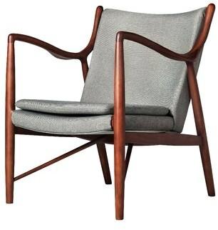 Corrigan Studioâ® Byrnes Armchair Corrigan StudioA Upholstery Color: Grey