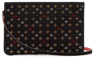 Christian Louboutin Loubiclutch Glitter Jacquard Bag - Black Multi