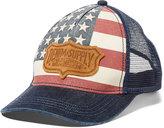 Denim & Supply Ralph Lauren Men's Flag Logo Trucker Hat