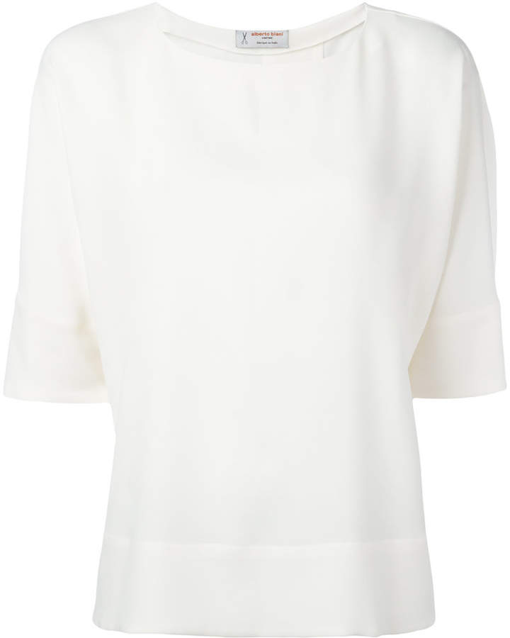 Alberto Biani short-sleeve blouse